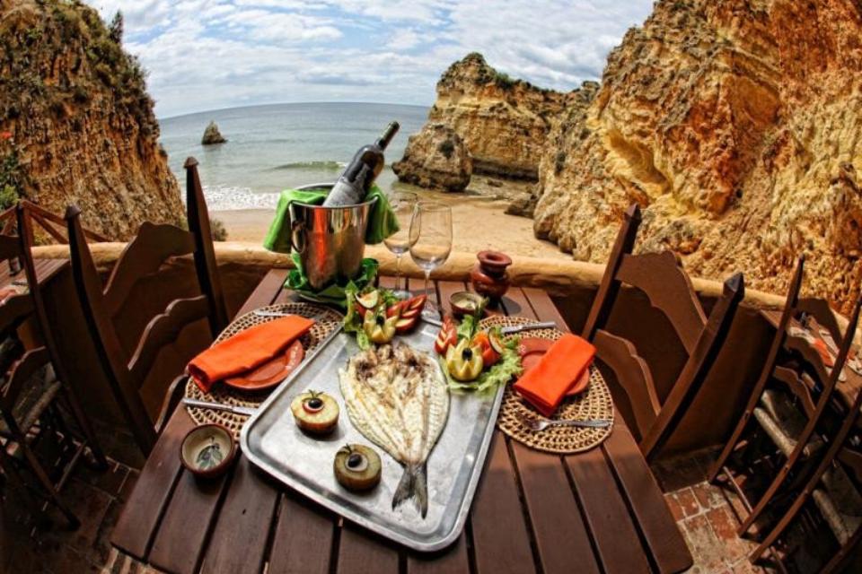 Algarve - jantar com vista para o amar